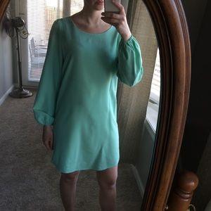 Sugarlips long sleeve mint dress